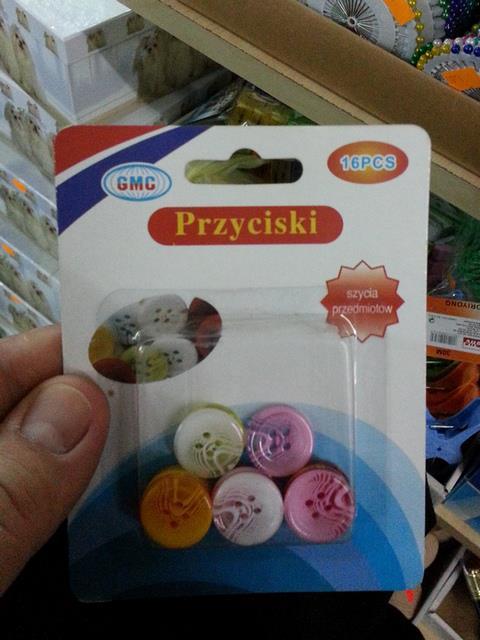 Tłumaczenia etykiet produktów